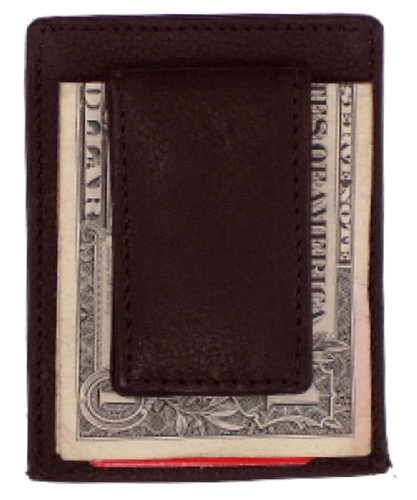 (Magnetic Money Clip with Credit Card Holder (Colors May Vary))