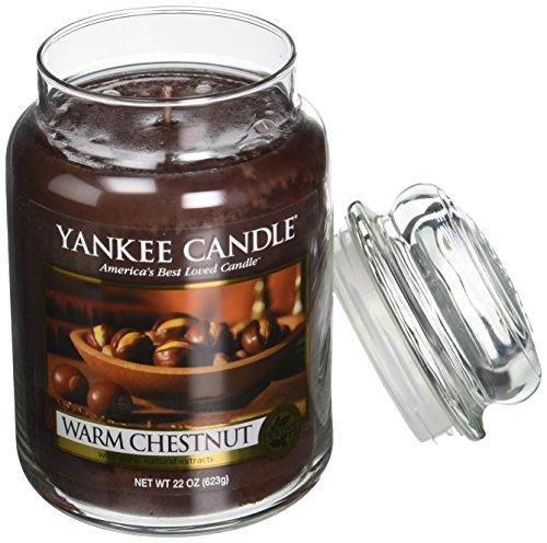Yankee Candle 22 oz Large Jar Candle WARM CHESTNUT