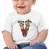 Sabina Harriman Unisex-Adult Baby V Couple Sheep Summer Short Sleeve Tee Shirts
