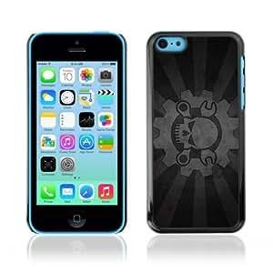 linJUN FENGDesigner Depo Hard Protection Case for Apple iphone 4/4s / Cool Cog & Skull Sign