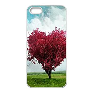 Love Tree iPhone 5 5s Cell Phone Case White F2942082