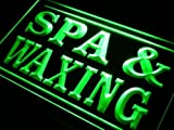 16''x12'' Spa Waxing Neon Sign LED Lights (green)