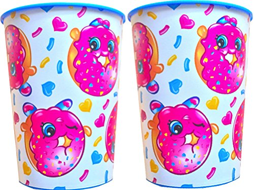 Shopkins D'lish Donut Keepsake Party Favor Cup Set 16 Oz
