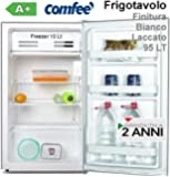 Comfee HS121LN1WH Freestanding Upright 93L A+ White freezer - freezers (Freestanding, Upright, White, Right, Rotary, 93 L)
