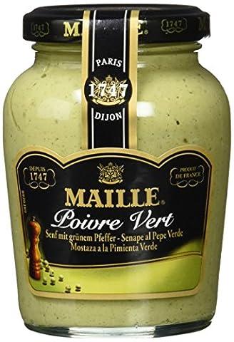 Maille Dijon Mustard With Green Pepper 200 Milliliter - Italian Mustard
