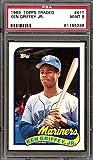 1989 topps traded #41t KEN GRIFFEY JR seattle mariners rookie card PSA 9 Graded Card