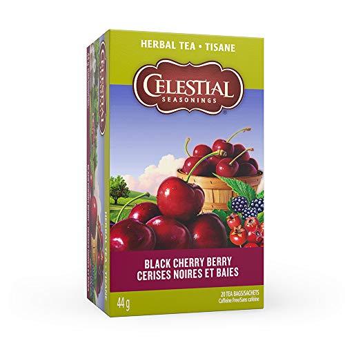- Celestial Seasonings Herb Tea Black Cherry Berry, 20-count (Pack of6)