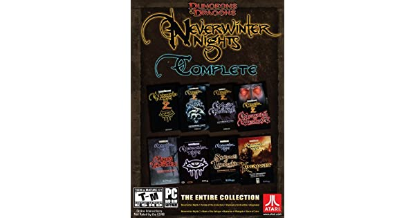 Amazon.com: Dungeons and Dragons Neverwinter Nights: The Complete Collection: Video Games