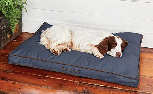 Orvis Comfortfill Platform Dog's Nest/Large Dogs 60-90 Lbs, Blue