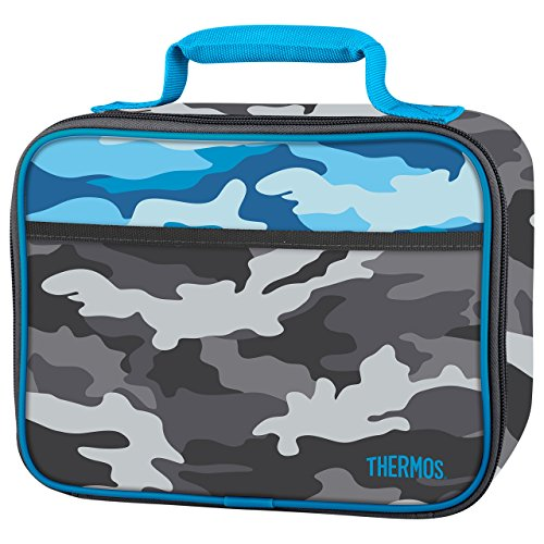Thermos Soft Lunch Kit, Camo (Insulated Camo Box Lunch)
