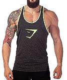 Men S Clothing Best Deals - Tuesdays2 Men Gym Muscle Sleeveless Shirt Tank Top T-shirt Bodybuilding Sport Vest (L/US8, Gray)