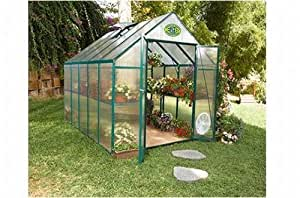 STC Easy Grow Greenhouse, Green Frame, 6 by 8-Feet
