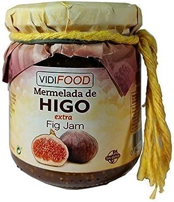 Mermelada Extra Artesanal de Higo - 210 g - Procedente de España - Casera - 100% Natural - Amplia Variedad de Deliciosos Sabores: Amazon.es: Alimentación y bebidas