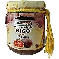 Mermelada Extra Artesanal de Higo - 210 g - Procedente de España - Casera, de Alta Calidad & 100% Natural - Amplia Variedad de Deliciosos Sabores