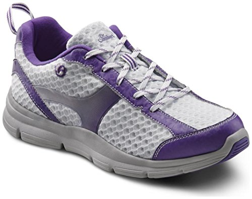 Dr. Comfort Meghan Women's Therapeutic Extra Depth Athletic Shoe: Purple 9 Wide (C-D) Lace