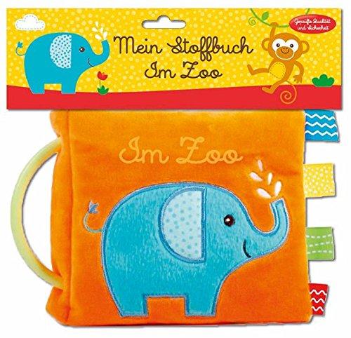 Mein Stoffbuch - Im Zoo