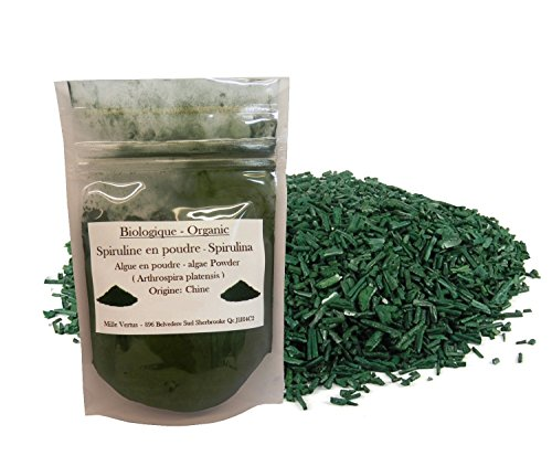 Organic Spirulina (arthrospira platensis) Dried Powder (25g)
