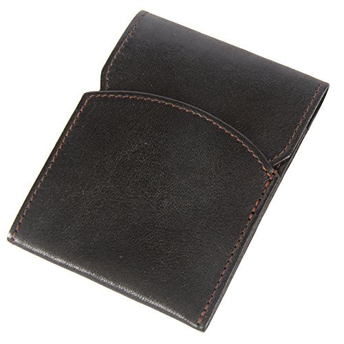 ocket Wallet with Flap Two Pockets Black (Flap Pocket Wallet)