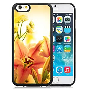 Elegant Orange Lily Durable High Quality iPhone 6 4.7 Inch TPU Case