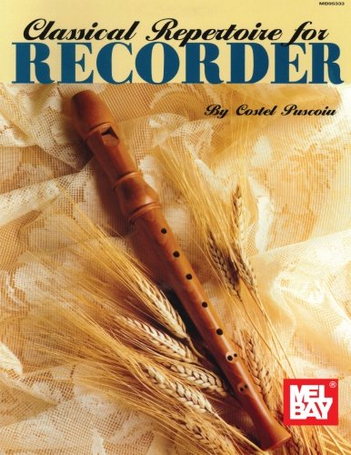 Mel Bay Classical Repertoire for Recorder
