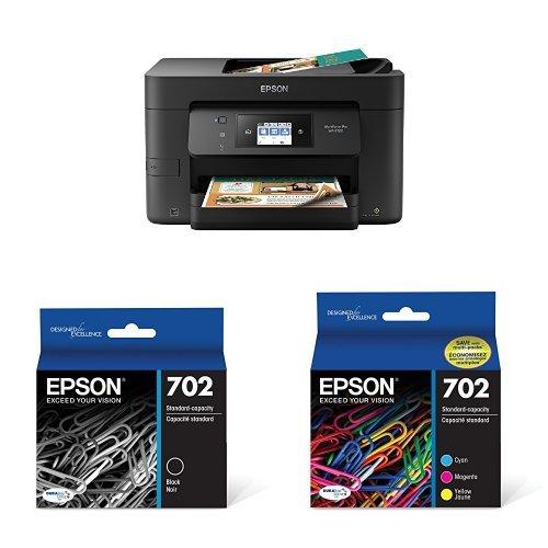 Epson WorkForce Pro WF-3720 Wireless Inkjet Printer, Copier,
