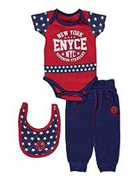 """Enyce Baby Boys' """"Star-E"""" 3-Piece Layette Set"""
