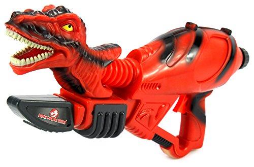 Jurassic Dino-Blasters 'T-Rex' Pump Children's Toy Water Gun, Super Blaster Soaker (Colors May (Toy Pink Pump Action Shotgun)