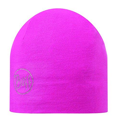 Buff Original 111397.999.10.00 Gorro de Microfibra, Hombre, Negro, Talla Única rosa - magenta