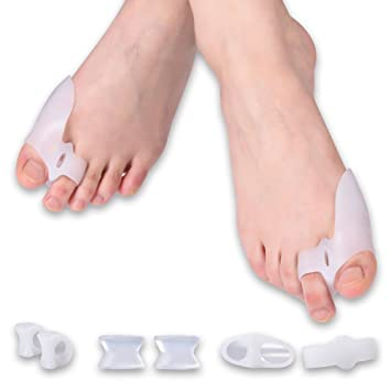 Gel Dift Pain Bunions Hammer Rubber Toe Support. Pain Relief