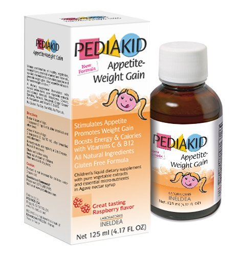 Pediakid Appetite Weight Gain Natural Appetite And Weight