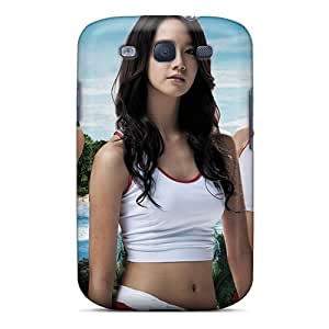 Jqq13516aZbQ Tpu Phone Case With Fashionable Look For Galaxy S3 - Girls Generation Swimsuit