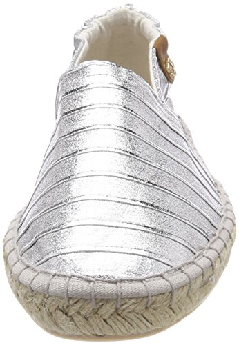 Tamaris Struct Femme 24610 Espadrilles silver Argent 7rZ7Pqw