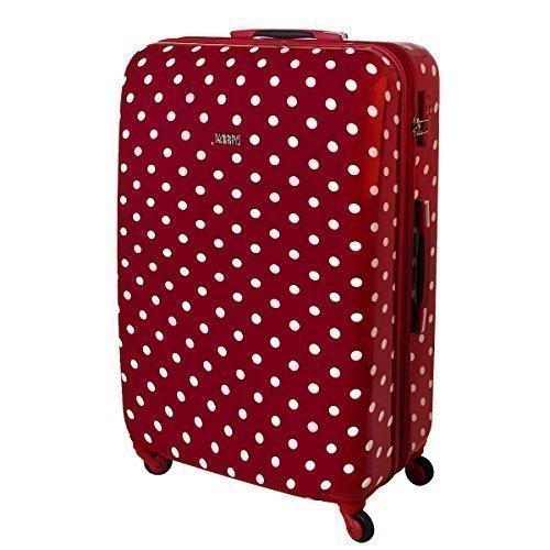 Reise Koffer Rot Punkte 813 / 818 (Reise Koffer 120 Liter Rot Punkte 813 / 818)