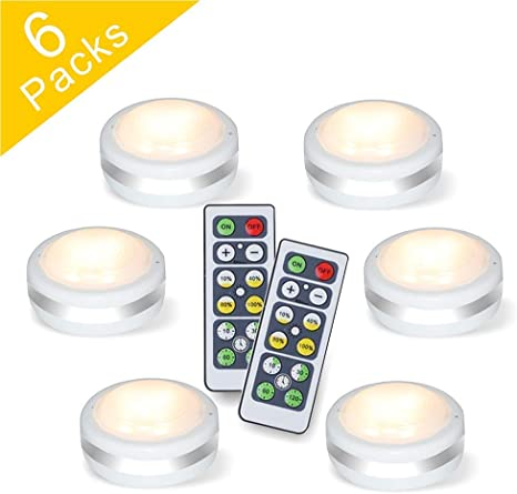 Puck Lights With Remote Starxing Wireless Led Puck Lights Battery Operated Led Puck Lights With Remote Control Led Under Cabinet Lighting Dimmable
