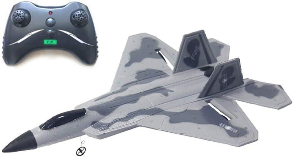 Forart RC glider toy toy DIY control remoto avión de juguete USB cargador de avión planeador deporte juego de juguete para niños adultos