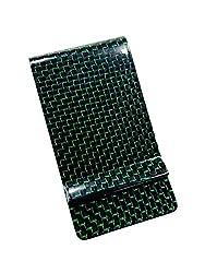 MGCFTan Money Clip Matte Carbon Fiber Credit Card Business Card Holder 3K twill Black Carbon