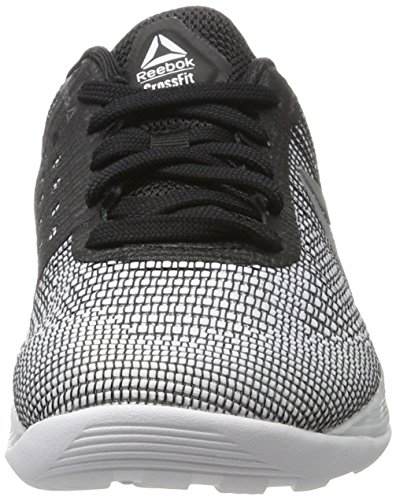 Reebok black 7 white R Unisex Running Zapatillas silver 0 Crossfit Blanco Nano Met De RrZqnRU