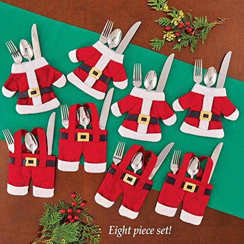 S6 Santa Flatware Holders by Collections Etc (Image #1)