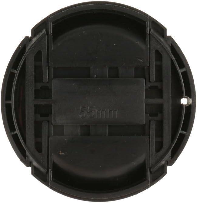 49mm MagiDeal Capuchon Dobjectif Avant Arri/ère Cache pour Canon Nikon Sony Cam/éra Ultra Violet