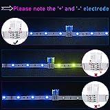 4-Pin RGB LED Light Strip Connectors JACKYLED 10mm