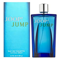 JOOP! JUMP by Joop! for MEN EDT SPRAY 6.7 OZ Launched by the design house of Joop! in 2005, JOOP! JUMP by Joop! possesses a blend of grapefurit, rosemary, musk, thyme, tonka beans, voriander leaves, vetiver, helitrop, vodka. It is recommended...