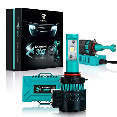 Glowteck-EXTREME360-LED-Headlight-Conversion-Kit-CREE-XHP50-Chip-From-HalogenHIDXenon-Car-Headlamp-2-Year-Warranty