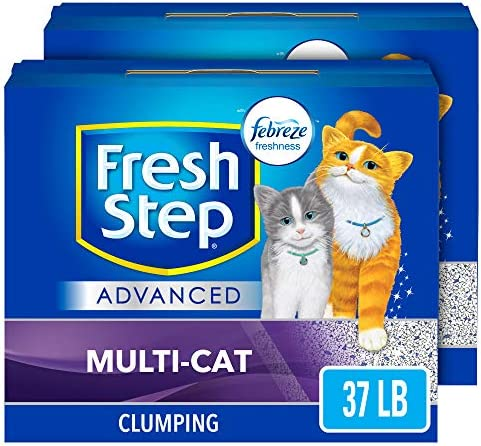 Save up to 30% on NEW Fresh Step Advanced kitty litter