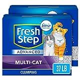 Fresh Step Advanced Multi-Cat 37lb (2x18.5lb pack)