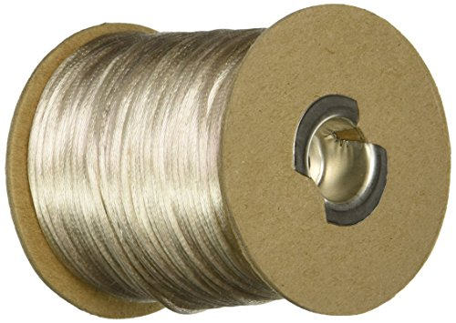 Schiff Ribbons Rattail 1 Light Weight Rayon and Cotton Beading Cord, Tan