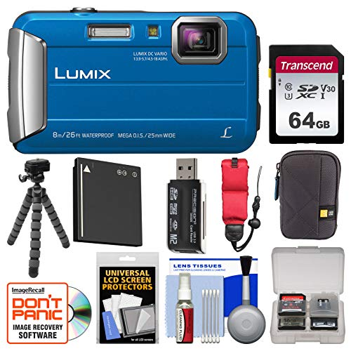 Panasonic Lumix DMC-TS30 Tough Shock &...