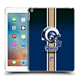 Official NFL Helmet Los Angeles Rams Logo Hard Back Case for iPad 9.7 2017 / iPad 9.7 2018
