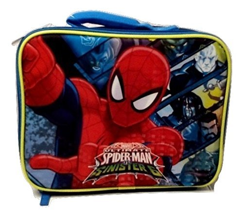 Spiderman New Marvel Ultimate Spider-man Insulated Lunch Bag Elementary Junior High Backpack Middle Lunch