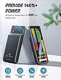 Google Pixel 4 XL Battery Case 8000mAh, ZeroLemon