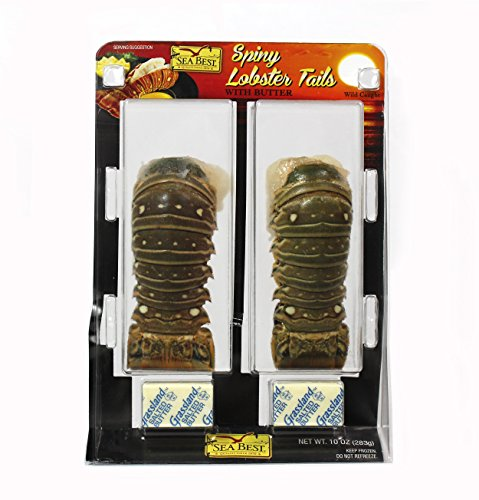 Sea Best Warm Water Lobster Tails with Butter 10 Ounce